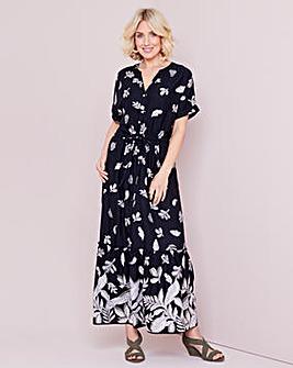 Julipa Tiered Print Dress