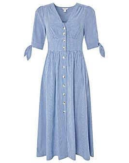 Monsoon Dolly Stripe Midi Dress