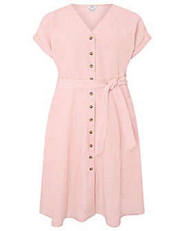 Monsoon Loretta Linen Dress