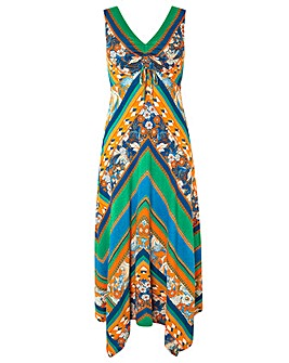 Monsoon Gemima Print Jersey Dress