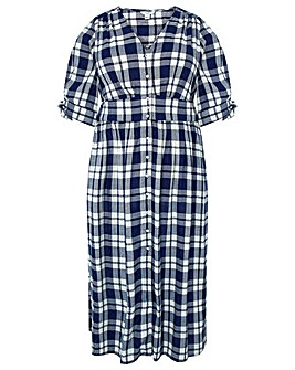 Monsoon Dolly Check Dress