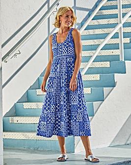 Julipa Jersey Tiered Dress