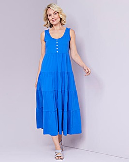 Julipa Jersey Tiered Dress