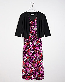 Julipa Jersey Maxi Dress and Shrug