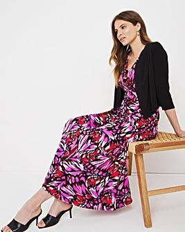 Julipa Jersey Maxi Dress and Shrug