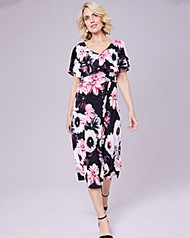 Julipa Jersey Print Dress