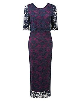 GRACE Overlay Lace Maxi Dress