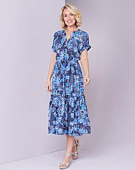 Julipa Print Tiered Dress