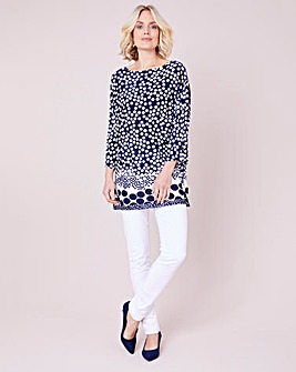 Julipa Spot Border Tunic