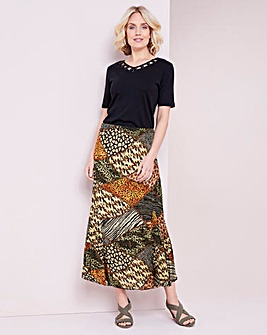 Julipa Crinkle Reversible Skirt
