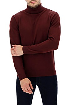 Mulberry Roll Neck Jumper