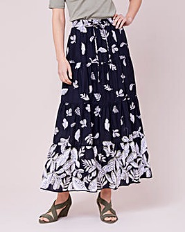Julipa Border Tiered Skirt