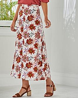 Julipa Button Through Skirt