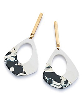 Mono Stick Drop Earrings