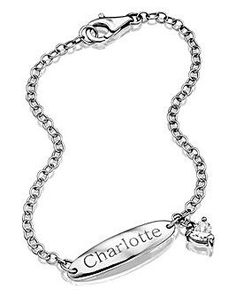 Personalised Sterling Silver ID Bracelet