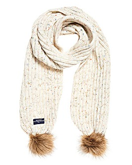 Superdry Zoe Knitted Scarf
