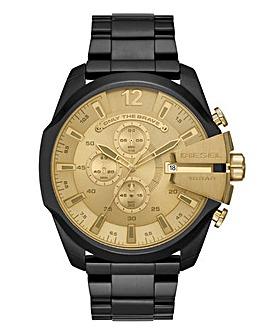 Diesel Gents Gold Face Watch