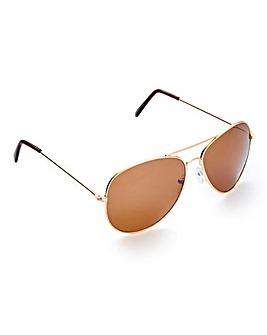 Squadron Aviator Sunglasses