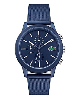 Lacoste Gents Navy Silicone Strap Watch