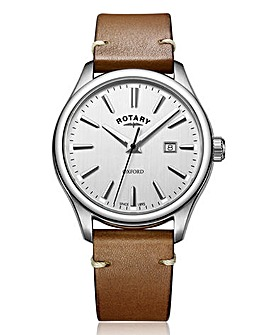 Rotary Gents Tan Strap Watch