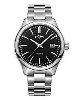 Rotary Gents Rhodium Bracelet Watch