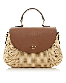 Dune Dathryn Basket Weave Bag