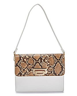 Glamorous Two Tone Shoulder Bag