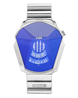 Storm Darth Lazer Blue Gents Watch