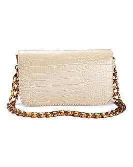 Glamorous Tortoiseshell Chain Bag