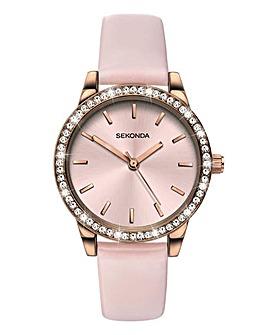 Sekonda Pink Diamante Watch