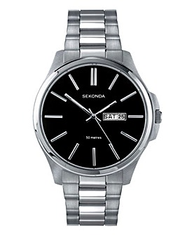 Sekonda Gents Silver-tone Watch