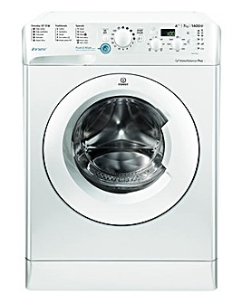 Indesit Innex BWD71453WUK 7kg 1400spin Washing Machine White + Installation