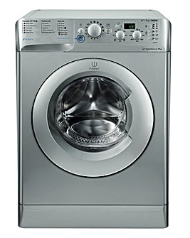 Indesit Innex BWD71453S 7kg 1400spin Washing Machine Silver