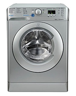 Indesit Innex BWA81483XSUK 8kg 1400spin Washing Machine Silver