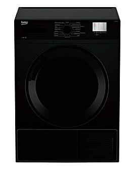 BEKO 7KG Condenser Tumble Dryer Black