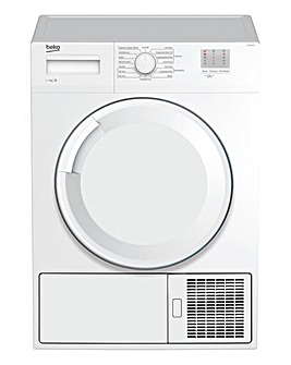 BEKO 7KG Condenser Tumble Dryer White