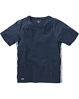 Lacoste Navy Terry T-shirt