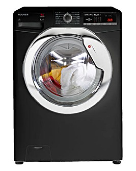 Hoover 9KG 1400RPM One Touch Washing Machine Black