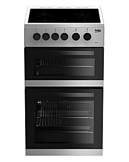 Beko 50cm Electric Double Cavity Cooker