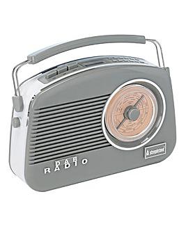 Steepletone Dorset DAB Radio Grey
