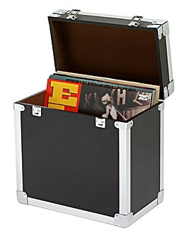 Steepletone LP Record Holder Black