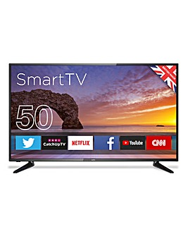 "CELLO C50ANSMT 50"" 4K Smart Android TV"
