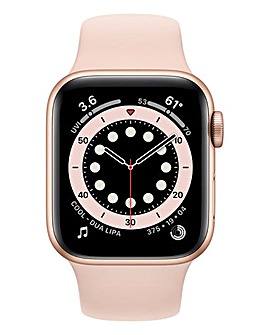 Apple Watch Series 6 40mm Gold Aluminium Case & Pink Sand Sport Band