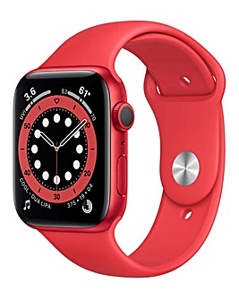 Apple Watch Series 6 40mm Red Aluminium Case & Red Sport Band