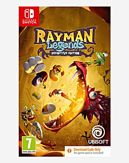 Rayman Legends Definitive Edition - (Code in a Box) Nintendo Switch