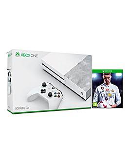 Xbox One S 500gb Console + FIFA 18