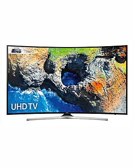 Samsung 55 Smart 4k UHD Curved TV