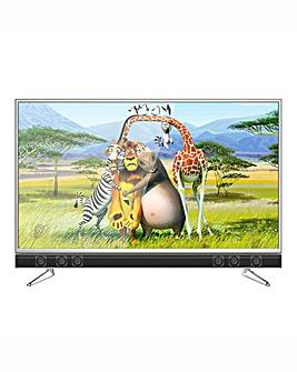 Cello 55 4K Smart TV Soundbar + Install