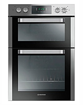 Hoover Double Multifunctional Oven Steel