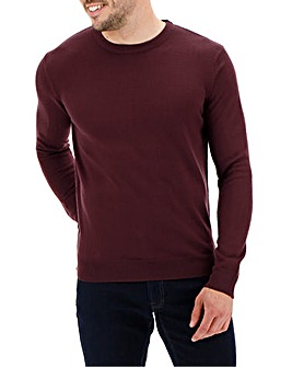 Mulberry Crew Neck Jumper